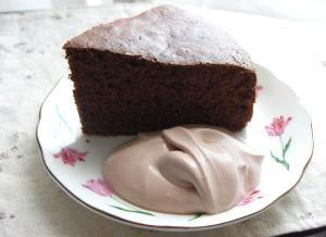 ココアのケーキ