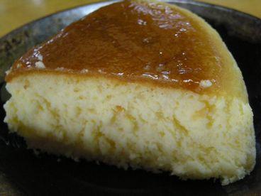朝焼きチーズケーキ