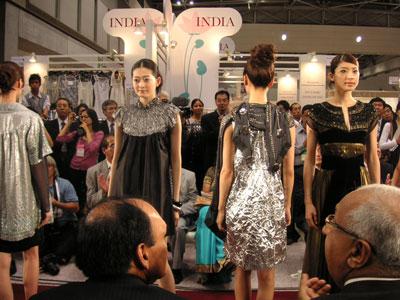 インドのファッションショー