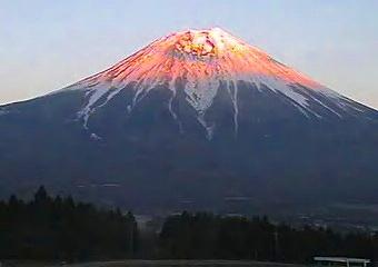 6月24日現在の富士山