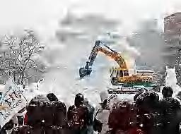 彦根城 解体