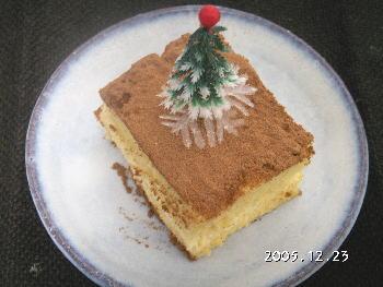 犬のクリスマスケーキレシピ