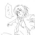 aniki!!敵の攻撃をよける彼の腹は素敵だ…