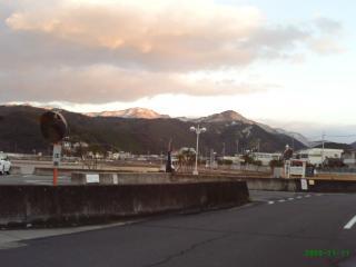 南紀すさみの雪景色1