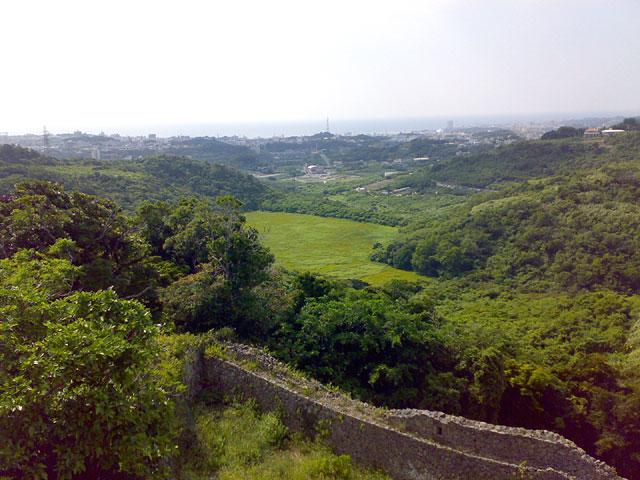 中城城北側の眺め