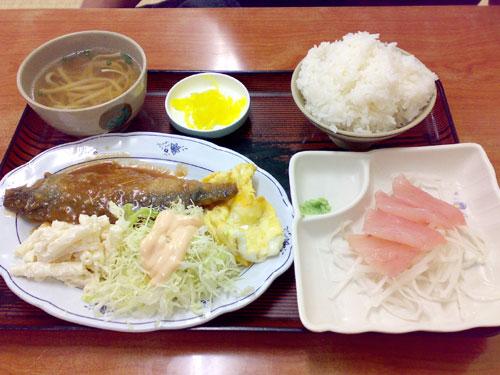 やんばる食堂サバ味噌煮