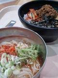 ピビンバ&冷麺