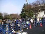 横浜ダービー整列