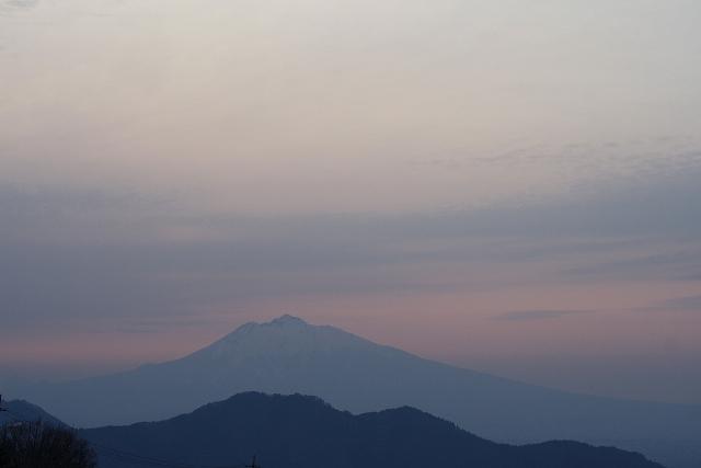 岩木山朝景