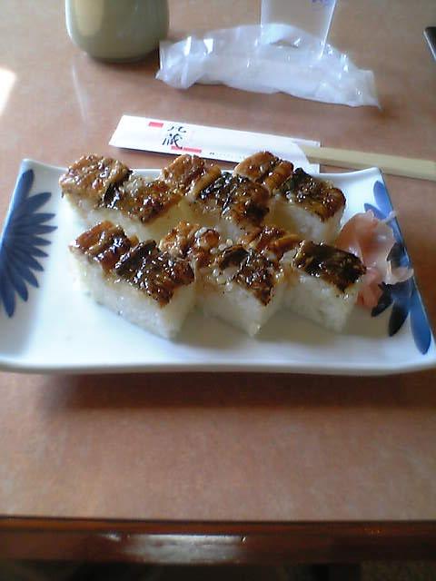 穴子の箱寿司