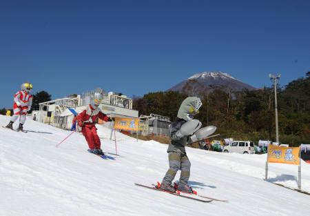 野外スキー場
