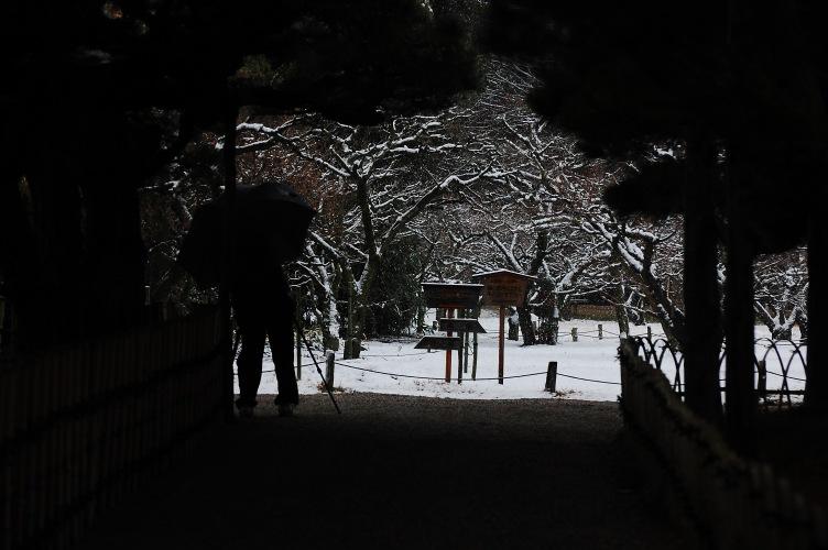 栗林公園雪景色 117