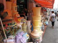 帽子の安い雑貨店