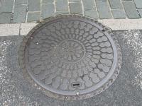 千成ひょうたんマンホール 丸型