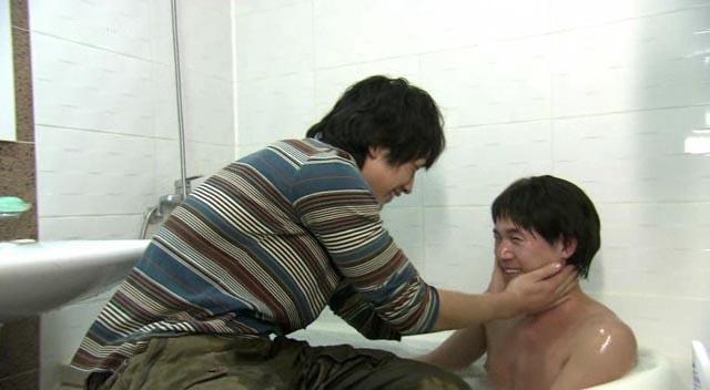 兄弟でお風呂