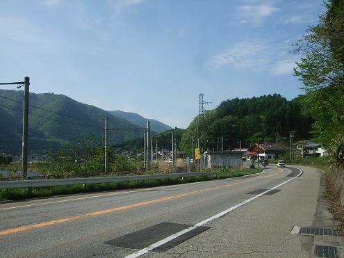 木崎湖(晴天)