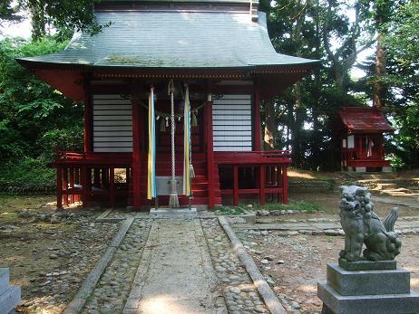 鼻節神社その1