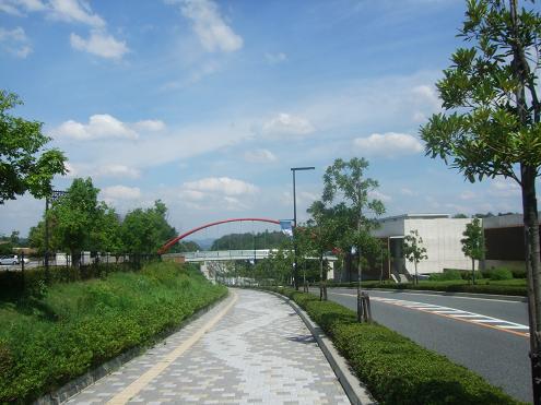 広島県立歴史民俗資料館に向かう