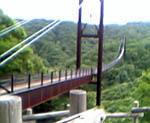 星のブランコつり橋