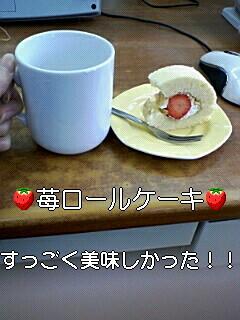 苺ロール♪