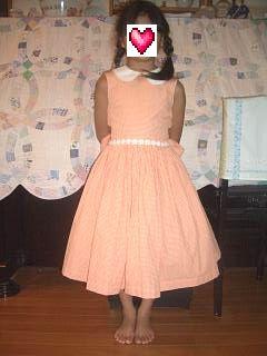 ドレス全身前
