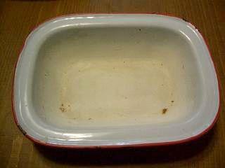 ホーロー皿