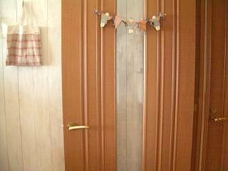 リビングドア塗装前