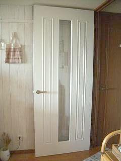 リビングドア塗装後全体