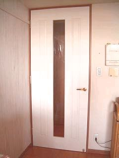 リビングドア塗装後