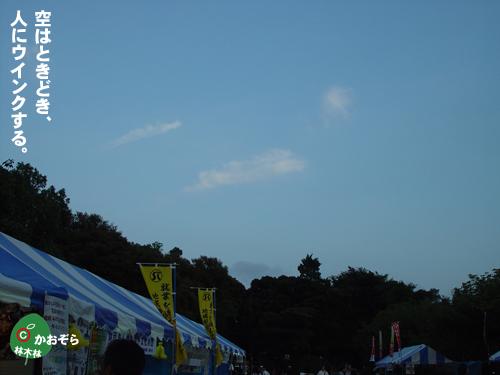 空のウィンク