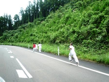 楯山ランニング