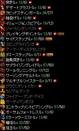 紗綾槍スキル Lv200