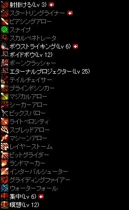 紗綾弓スキル Lv200