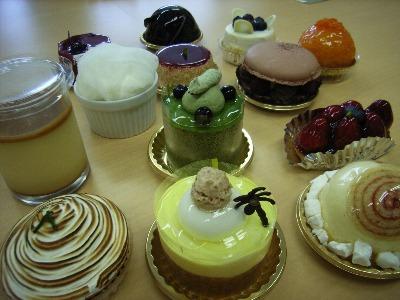 シマのケーキたち