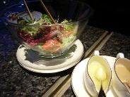 ピークバーのサラダ