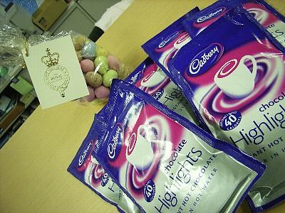 ロンドン土産のホットチョコレート