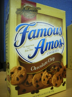 FamousAmosのチョコチップクッキー