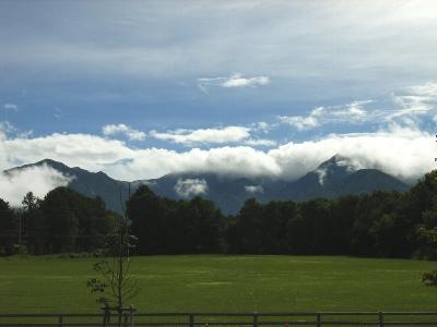 八ヶ岳農場からの景色