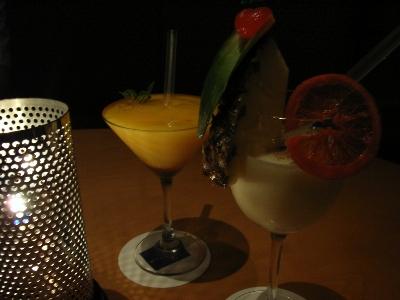 スターロードの完熟アップルマンゴーとマンダリンオレンジのフローズンダイキュリ