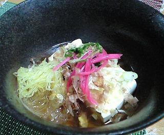 s-湯豆腐・そうめんかぼちゃ
