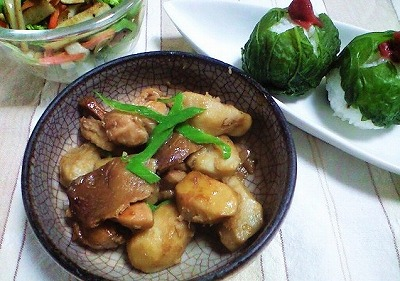s-海老芋煮物