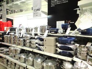 IKEA お鍋売り場