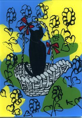 夏のギフト猫
