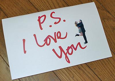 P.S. I LOVE YOUのパンフレット