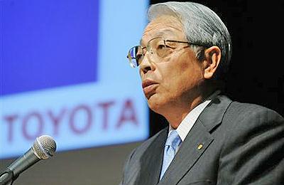 トヨタ自動車の木下光男副社長