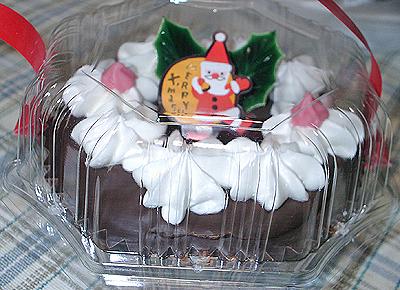 カップクリスマスケーキ