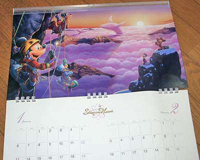 2008年のDoCoMoプレミアムクラブカレンダー