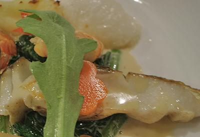鱸を使った魚料理