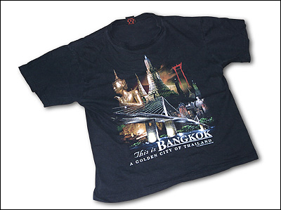 バンコクのTシャツ