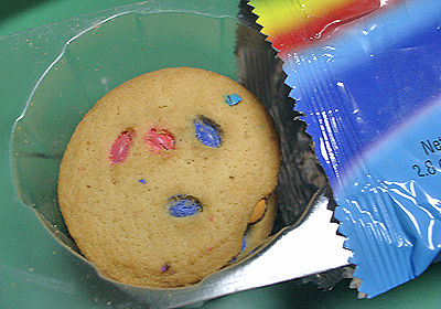 Rainbow Candy Cookies